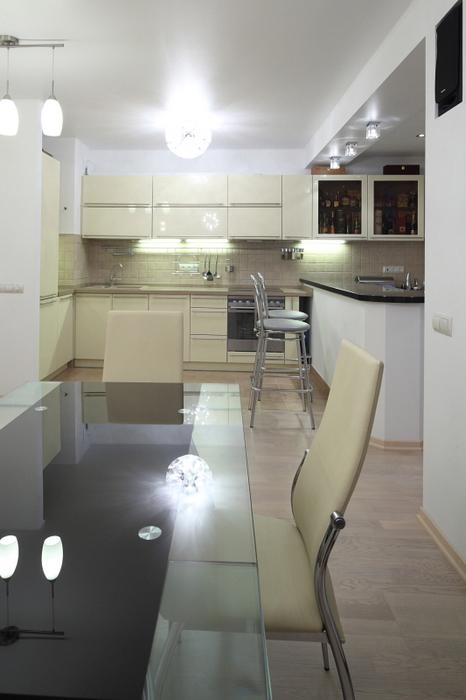 Квартира. кухня из проекта , фото №23249