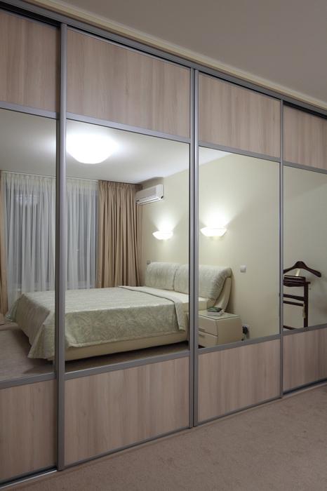 Квартира. спальня из проекта , фото №23251