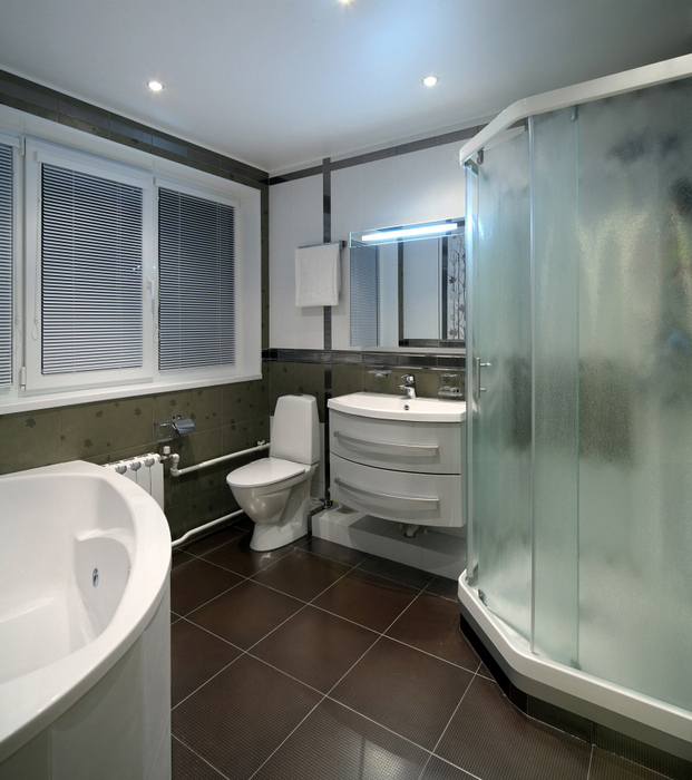 Квартира. ванная из проекта , фото №23252