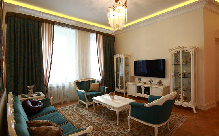Фото № 23818 гостиная  Квартира