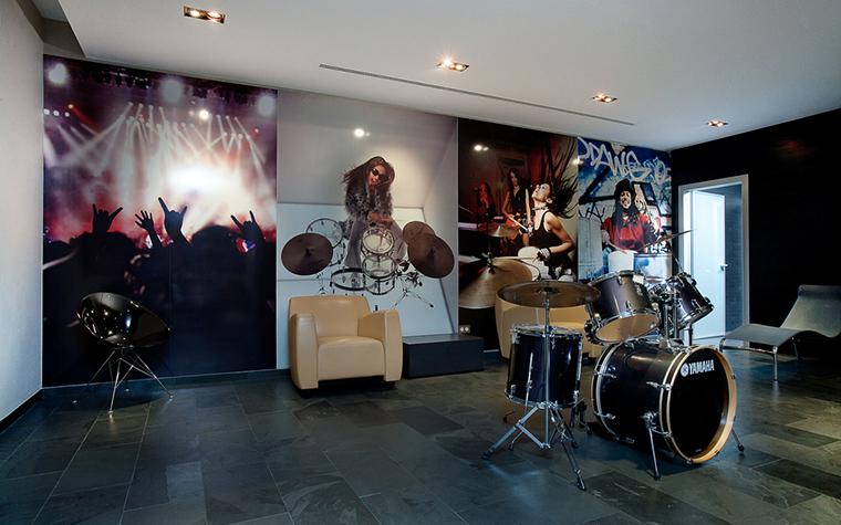 Квартира. музыкальная комната из проекта , фото №23569