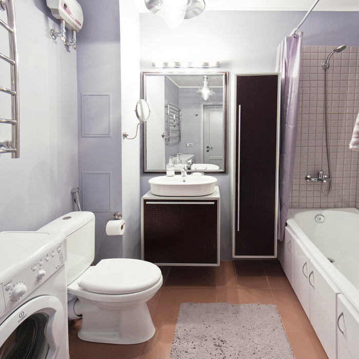интерьер ванной - фото № 23589