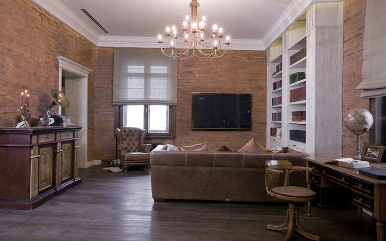 интерьер гостиной - фото № 23606