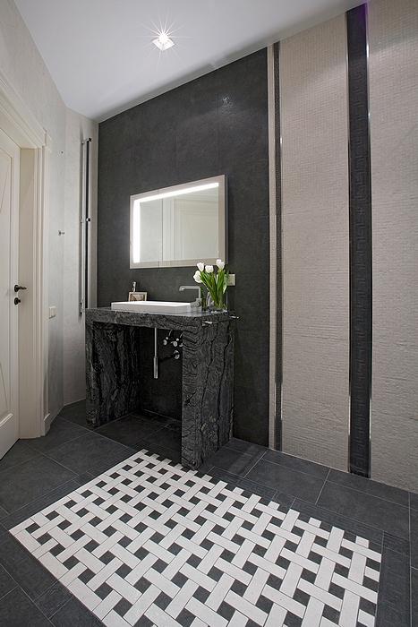 Квартира. ванная из проекта , фото №23705
