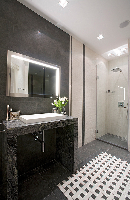 Квартира. ванная из проекта , фото №23708
