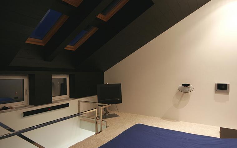 Квартира. спальня из проекта , фото №23723