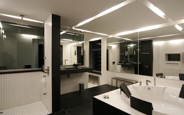 Квартира. ванная из проекта , фото №23724