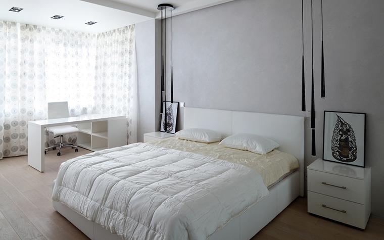 Квартира. спальня из проекта , фото №23764