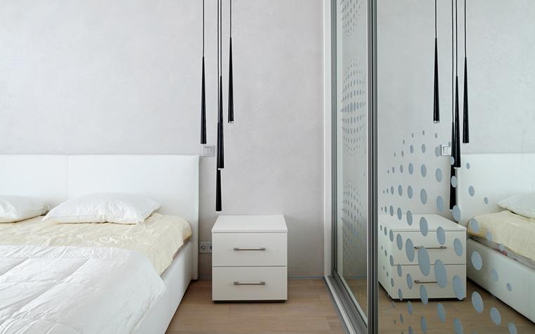 Квартира. спальня из проекта , фото №23765