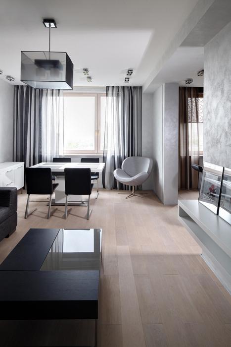 Квартира. гостиная из проекта , фото №23758