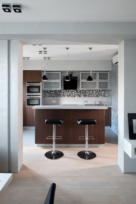 Квартира. кухня из проекта , фото №23762