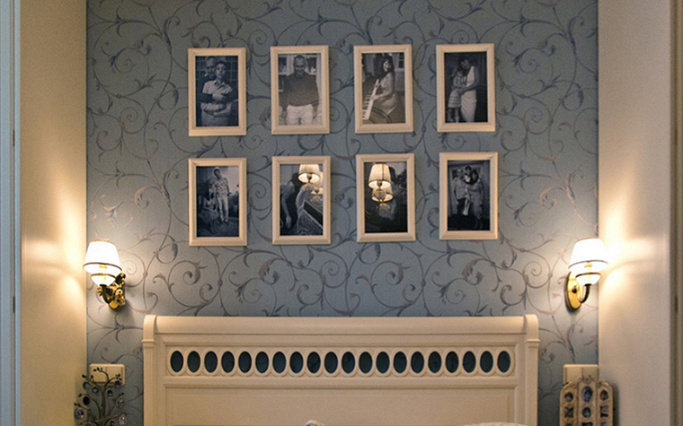 интерьер спальни - фото № 23811