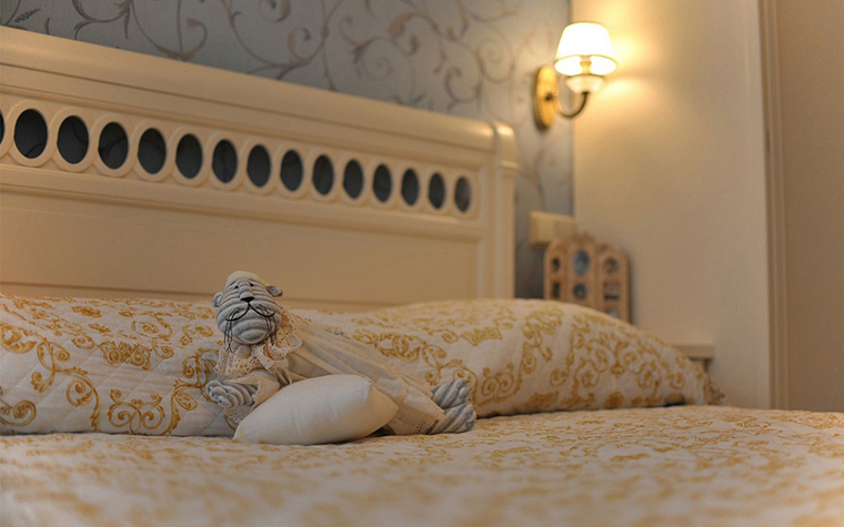 интерьер спальни - фото № 23812