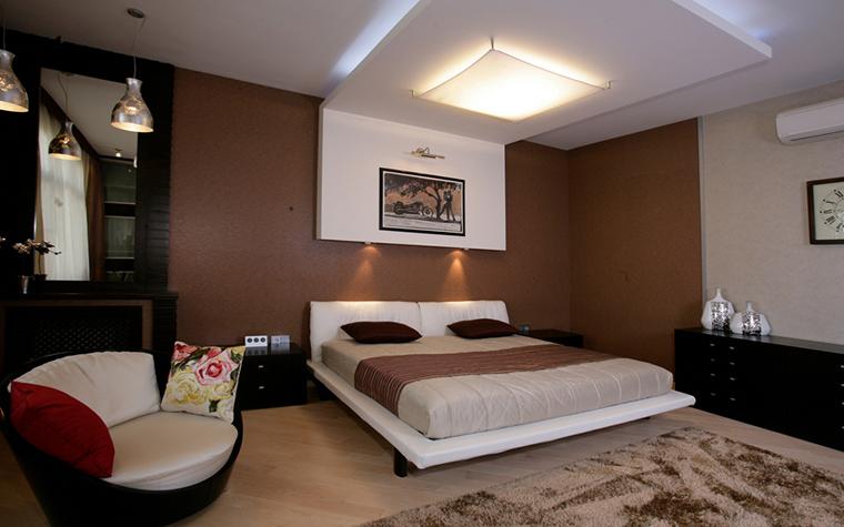 Квартира. спальня из проекта , фото №23853