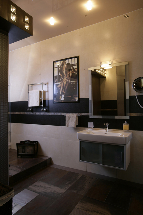Квартира. ванная из проекта , фото №23864