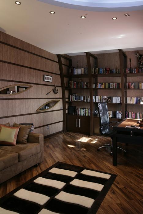 Квартира. кабинет из проекта , фото №23842