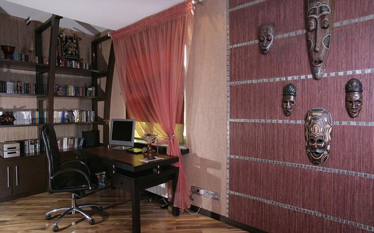 Квартира. кабинет из проекта , фото №23844