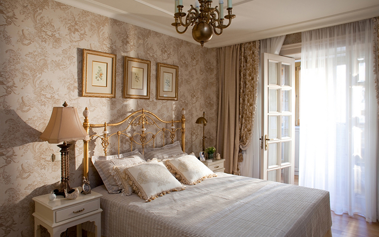 Квартира. спальня из проекта , фото №24008