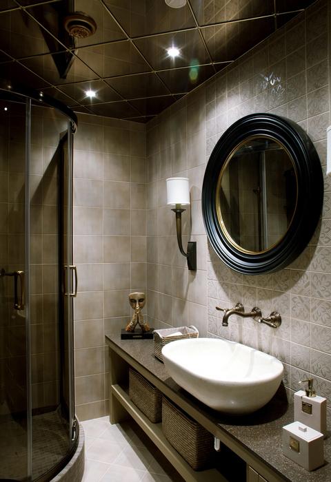 Квартира. ванная из проекта , фото №24011