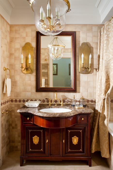 Квартира. ванная из проекта , фото №24010