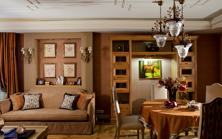 интерьер гостиной - фото № 24004