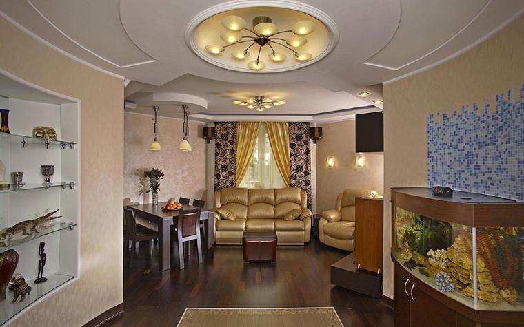 Фото № 24038 гостиная  Квартира