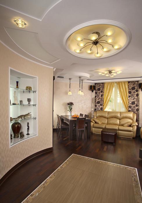 Фото № 24039 гостиная  Квартира