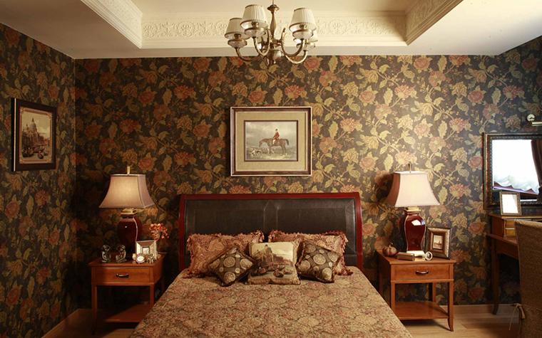 Квартира. спальня из проекта , фото №24058