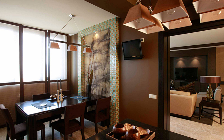 Квартира. кухня из проекта , фото №24056
