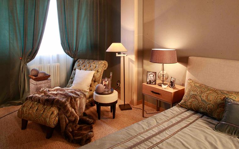 интерьер спальни - фото № 24060