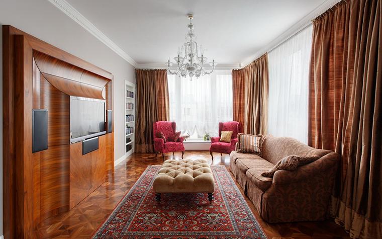 Фото № 24090 гостиная  Квартира