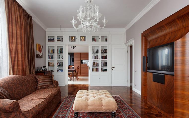 Фото № 24098 гостиная  Квартира