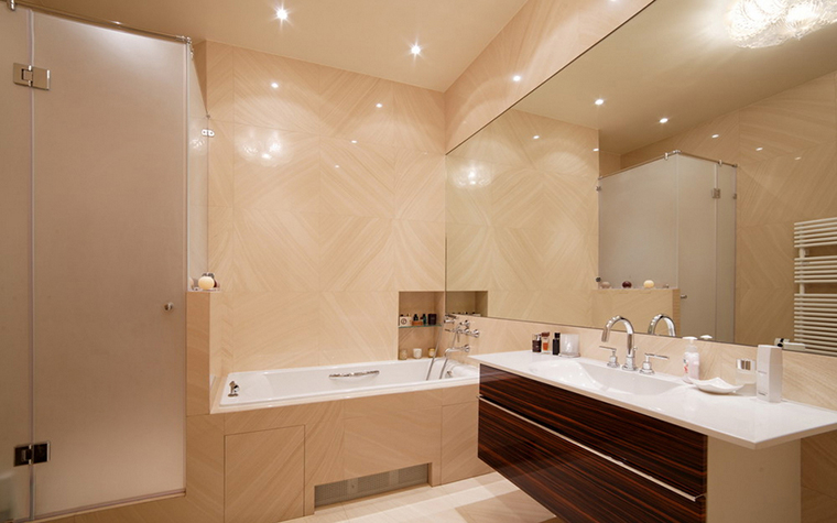 Квартира. ванная из проекта , фото №24101