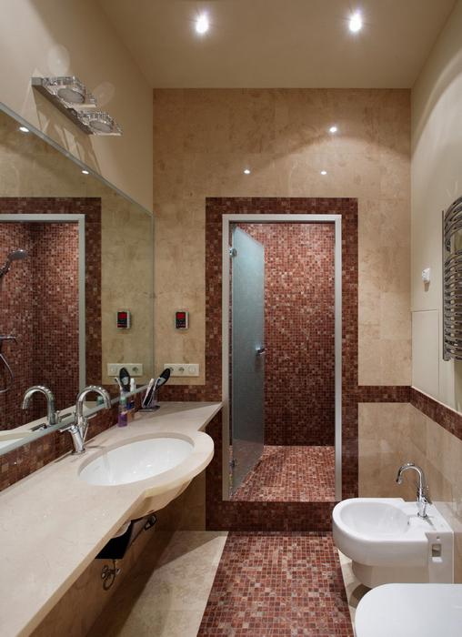 Квартира. ванная из проекта , фото №24102