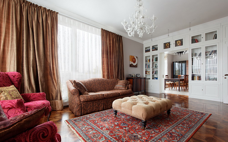 Фото № 24091 гостиная  Квартира