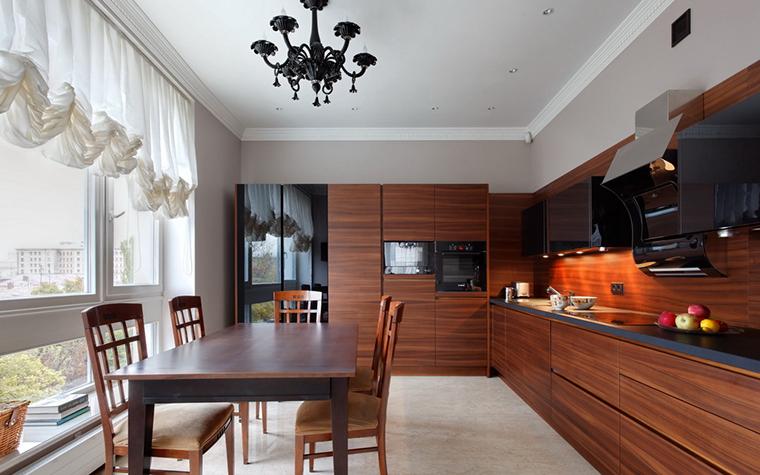 Квартира. кухня из проекта , фото №24095