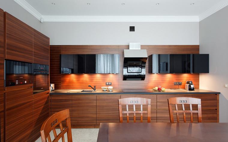 Квартира. кухня из проекта , фото №24096