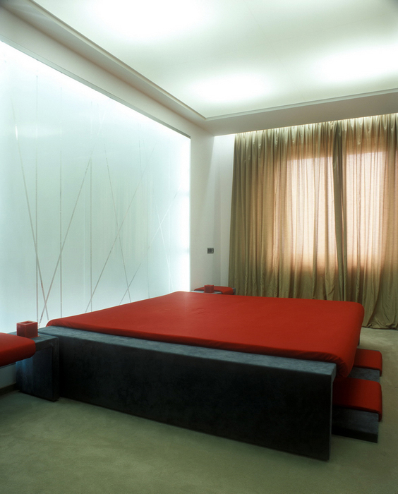 Квартира. спальня из проекта , фото №24159
