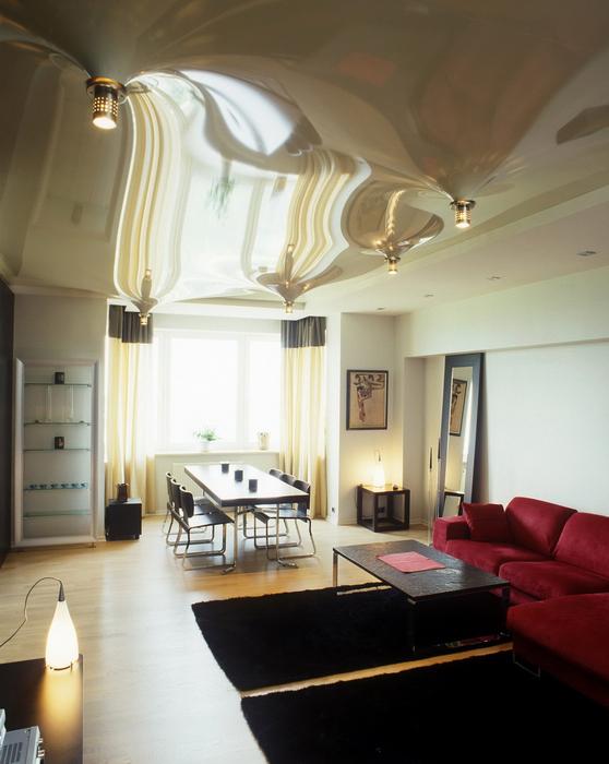 Квартира. гостиная из проекта , фото №24160