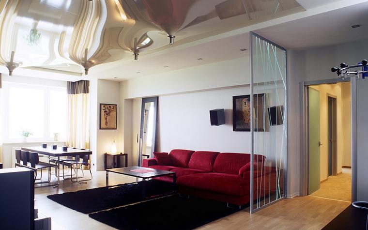 Квартира. гостиная из проекта , фото №24161