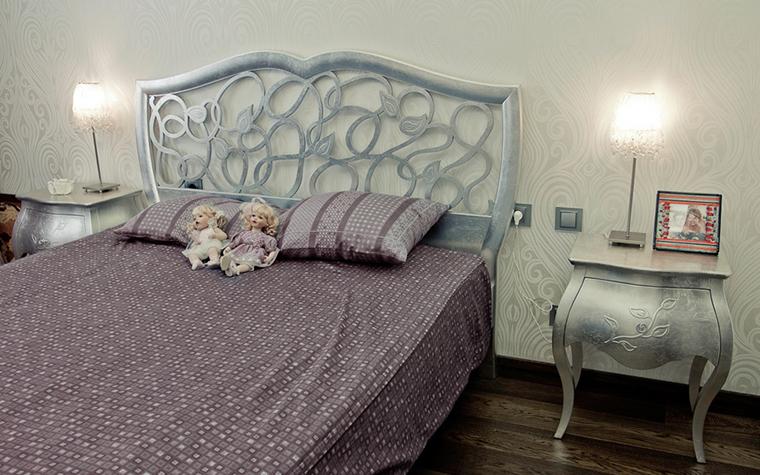 интерьер спальни - фото № 24166
