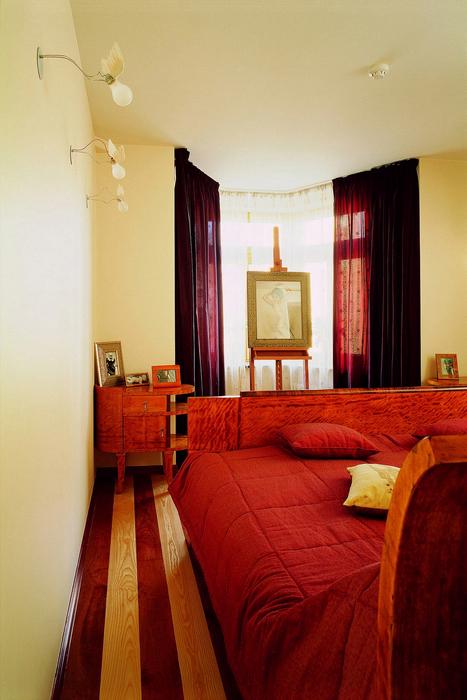 Квартира. спальня из проекта , фото №24190