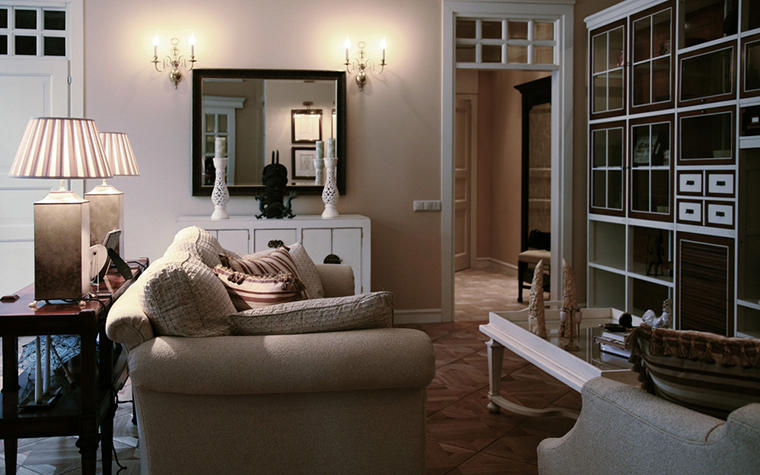 Фото № 24197 гостиная  Квартира
