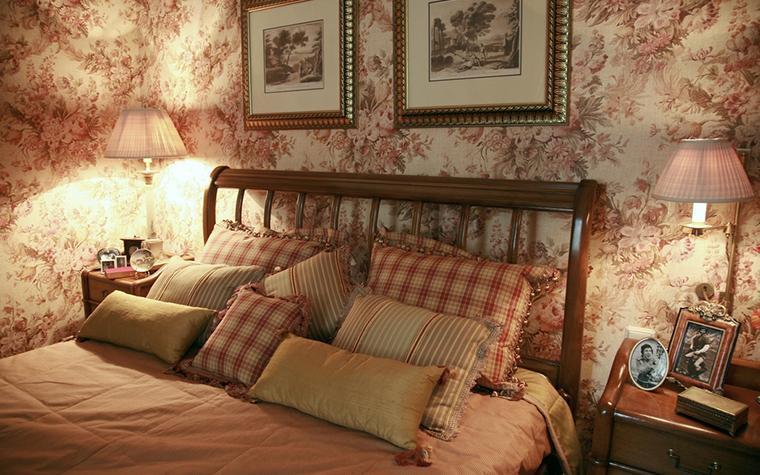 интерьер спальни - фото № 24660