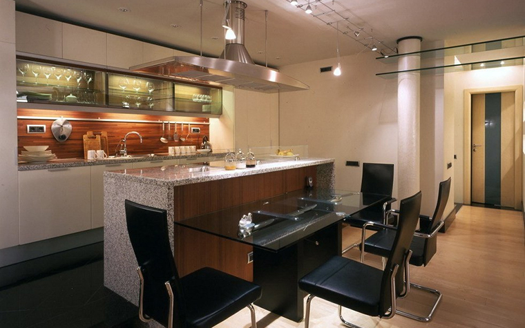 Квартира. кухня из проекта , фото №24205