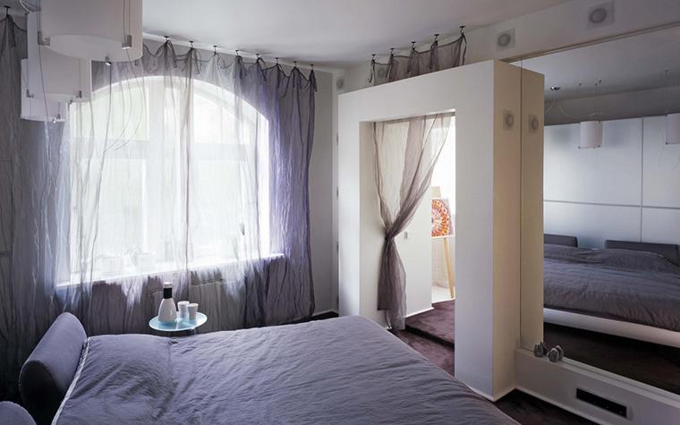 Квартира. спальня из проекта , фото №24207