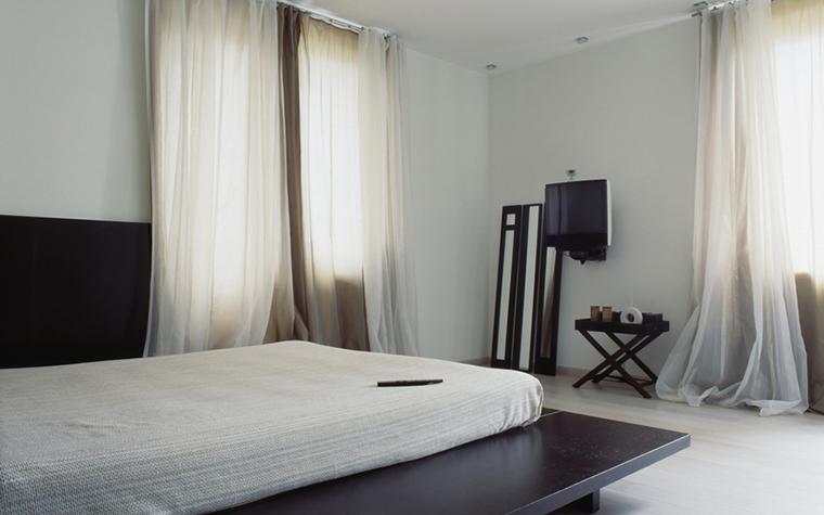 Квартира. спальня из проекта , фото №24215