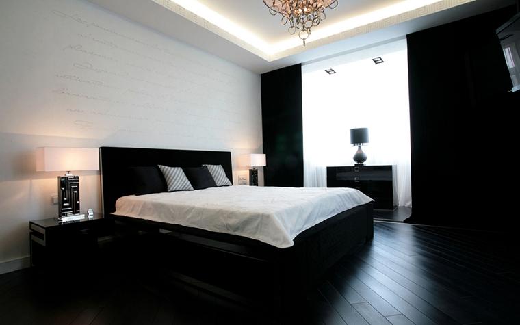 Квартира. спальня из проекта , фото №24271