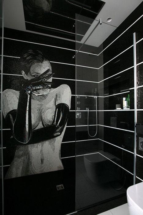 Квартира. ванная из проекта , фото №24275