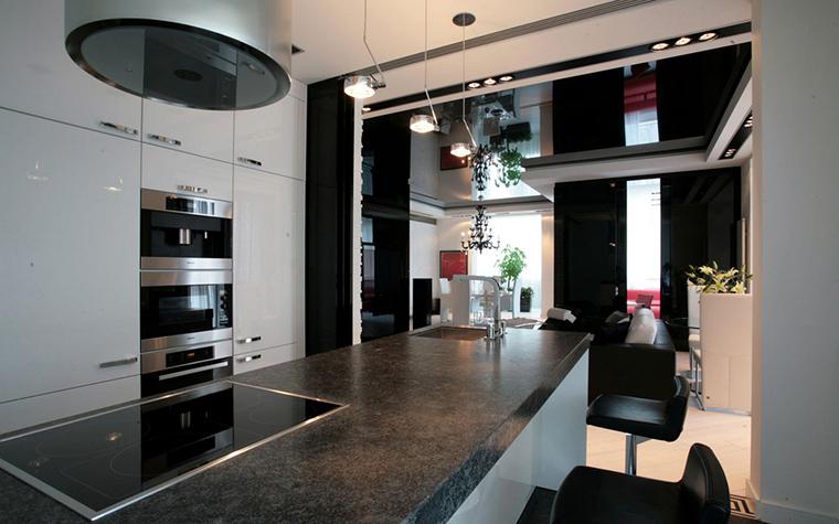 Квартира. кухня из проекта , фото №24267